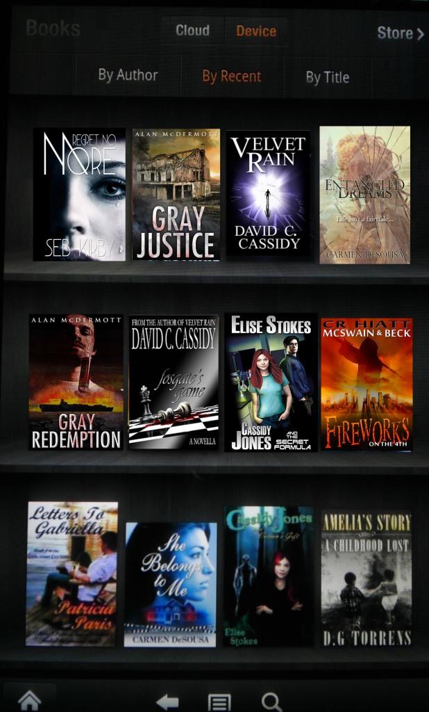 Kindle Fire Books